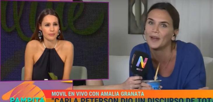 Pampita discutió con Granata por el aborto legal