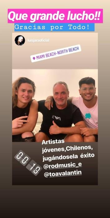 Toa Valantin con Luis Jara