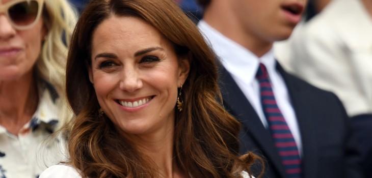 Kate Middleton rompió protocolo en Wimbledon
