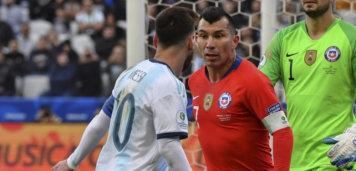 Gary Medel recibió castigo por incidente con Messi