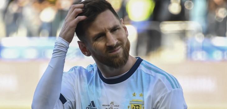 Messi recibiría dura sanción por tratar de 'corrupta' a la Conmebol