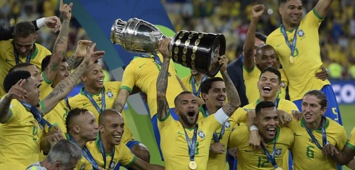 Brasil celebró en casa: derrotó a Perú en la final y se quedó con la Copa América 2019
