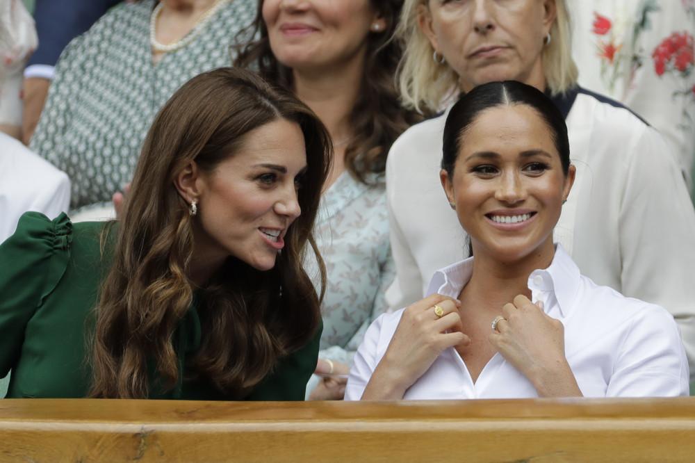 Kate Middleton tierno gesto con Meghan Markle en Wimbledon