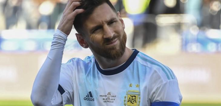 Conmebol dio a conocer el castigo de Messi por su pelea con Medel en Copa América