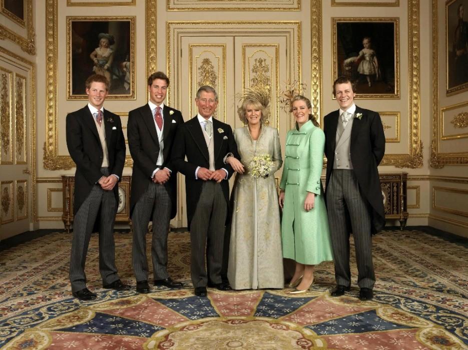 Título real hijos Camilla Parker