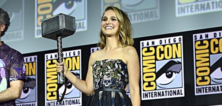 La nueva súper heroína: Natalie Portman interpretará a la primera mujer 'Thor'