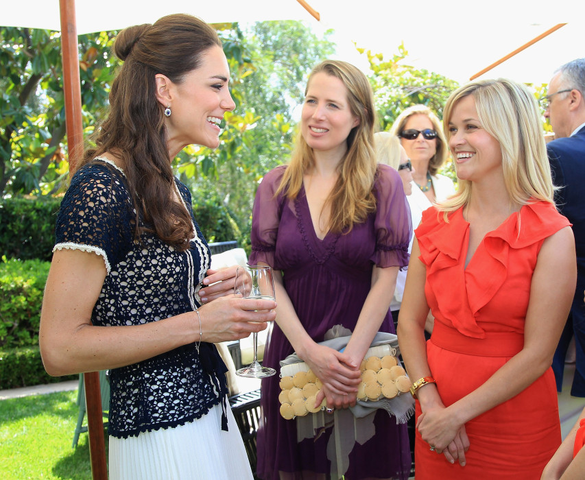 Amigos famosos de Kate Middleton