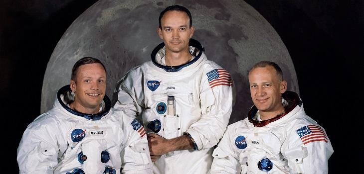 programación especial por la llegada del hombre a la luna