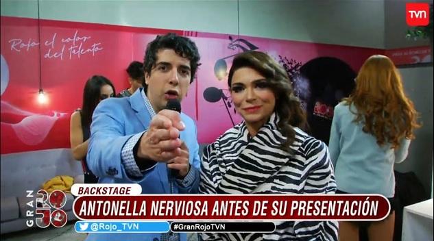 ntonella Ríos se ganó al jurado con sensual presentación en el estreno de 'Famosos al Rojo'