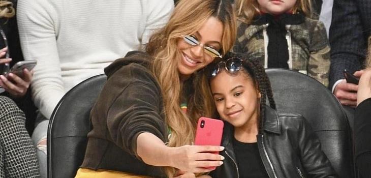 Hija de Beyoncé debutó en la música a sus 7 años en canción de su madre