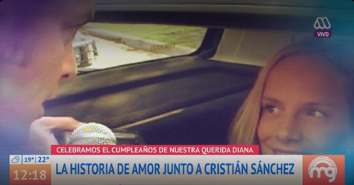 ¿Amor a primera vista? Revelan inéditas imágenes de cuando Diana Bolocco conoció a Cristián Sánchez