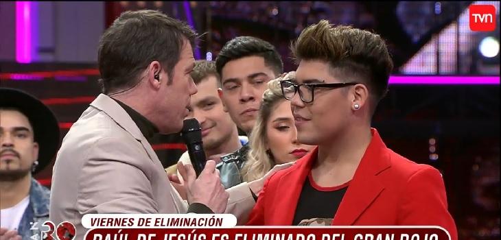 Raúl de Jesús eliminado de 'El Gran Rojo'