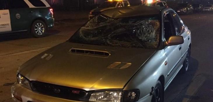 Atropello en carreras clandestinas dejó ocho lesionados en Maipú: siete de ellos se fueron del lugar