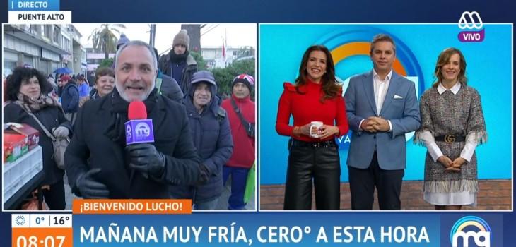 reacciones regreso Lucho Jara Mucho Gusto