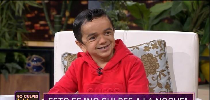 Miguelito se emocionó contando su historia de superación en 'No Culpes a la Noche'