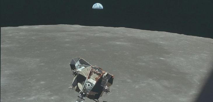 Michael Collins, el astronauta que fotografió la fragilidad del planeta Tierra desde el Apolo 11