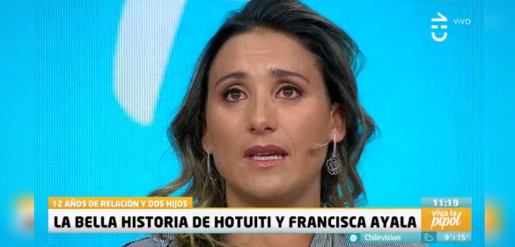 Francisca Ayala hijo Sebastián llamó papá a Hotuiti