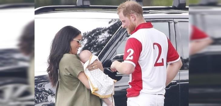 Harry, Meghan Markle y Archie asistieron a su primer evento público como familia