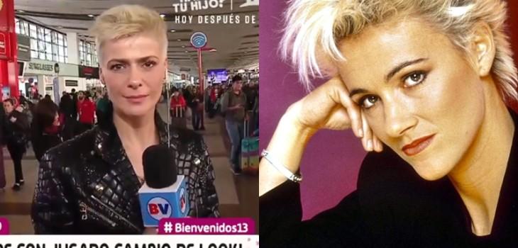Reacciones de nuevo look de Tonka Tomicic rubia