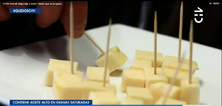 Sucedáneo de queso es comercializado en Chile: podría ser cancerígeno