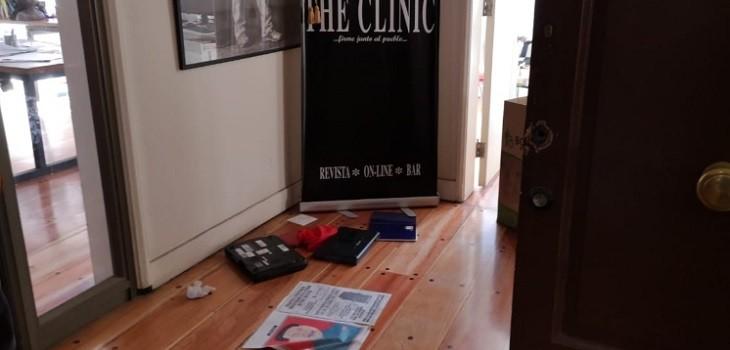 The Clinic sufrió robo este domingo en sus oficinas en el centro