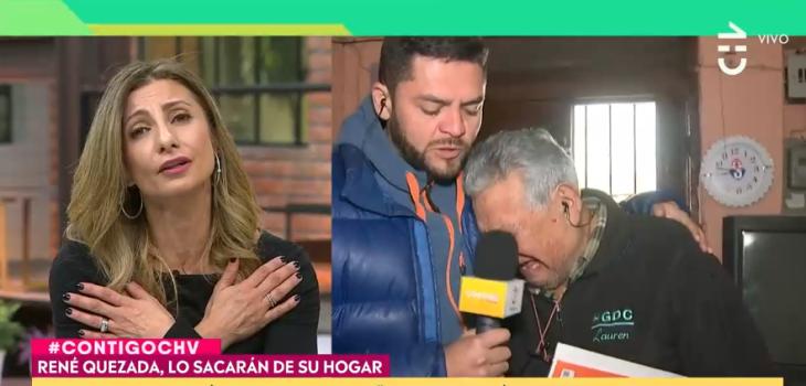 Llanto de abuelito conmovió en Contigo en la Mañana: firmó papel y sin darse cuenta vendió su casa