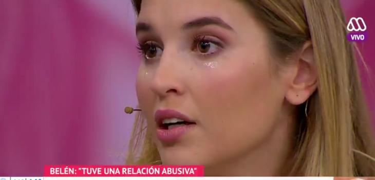 Belén Soto se quebró en Mucho Gusto al hablar de episodio en relación abusiva