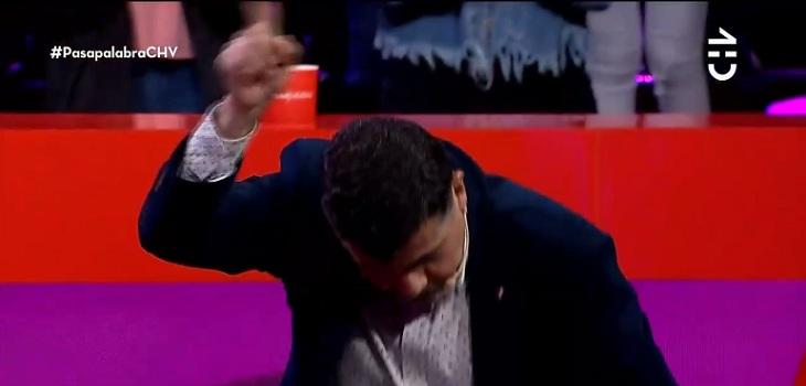 beto espinoza celebrando su jugada
