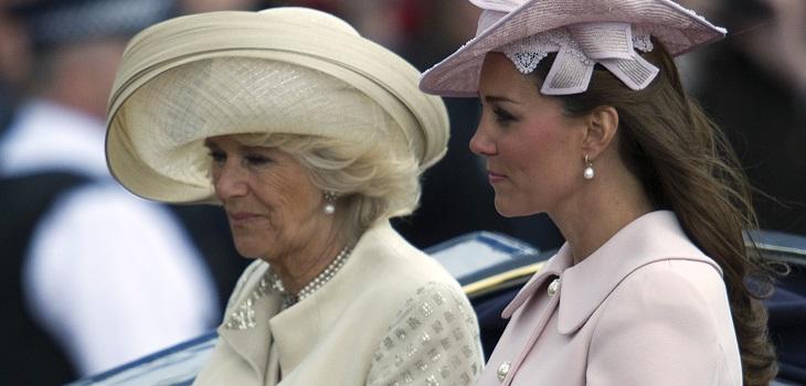 camilla parker quiso separar a kate middleton y al príncipe William