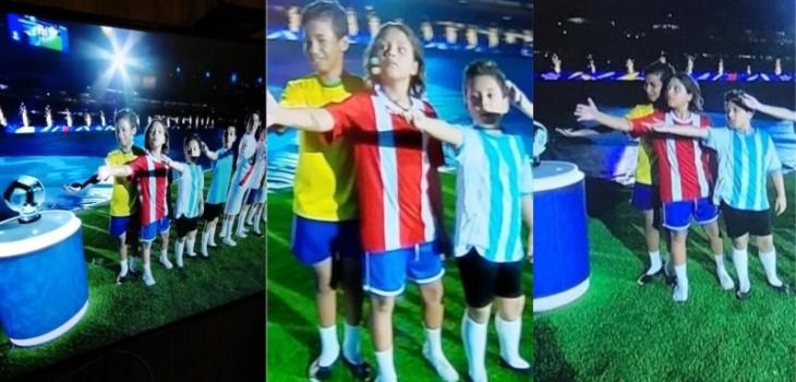 El error con la camiseta de Chile que la Conmebol arregló para la ceremonia final de la Copa América