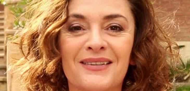 Cata Guerra y su personaje en Amor a la Catalán