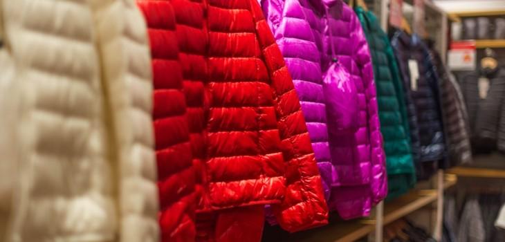 cómo lavar chaquetas de pluma