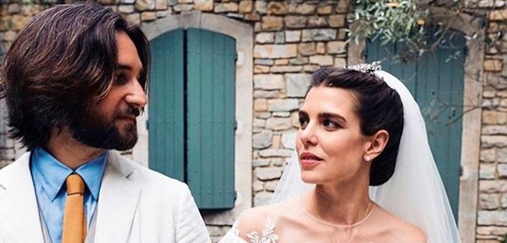 charlotte casiraghi se casó