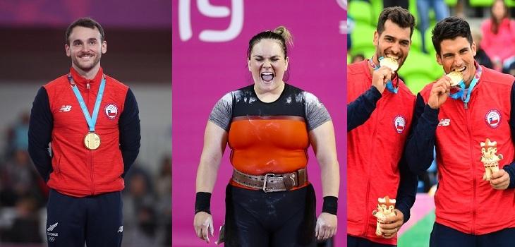 chile y sus tres medallas de oro