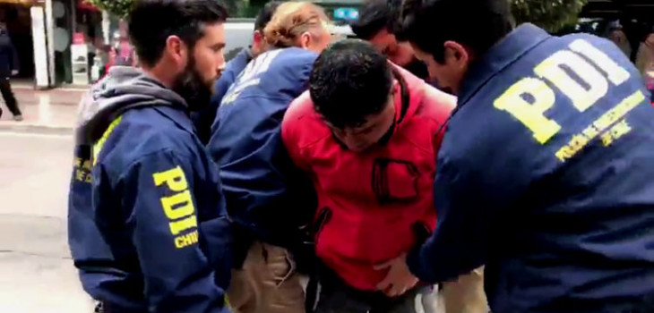 pista clave detención colectivero acusado de crímenes en Copiapó