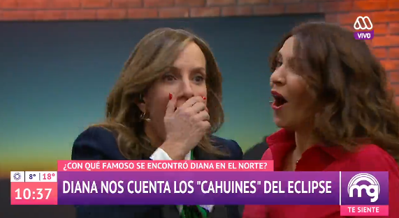 Diana Bolocco no se olvida de Canal 13 y sufre fail en pleno Mucho Gusto