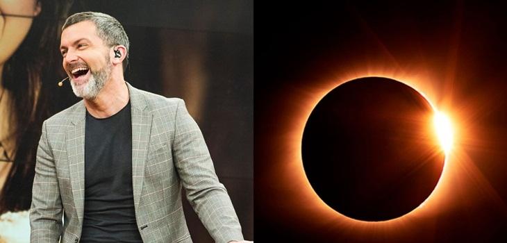 Cristián Sánchez se suma al vuelo de Nat Geo y verá el eclipse desde el aire