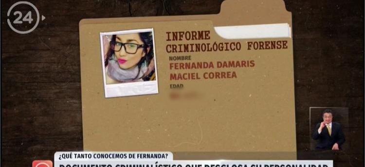 Nota de TVN con informe psicológico de Fernanda Maciel es lo más denunciado en la historia del CNTV
