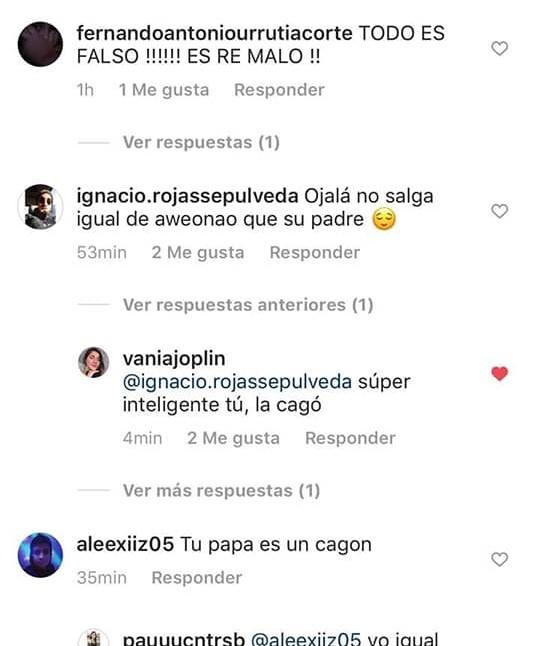 Gabriel Arias y su hijo recibieron horribles insultos en redes sociales