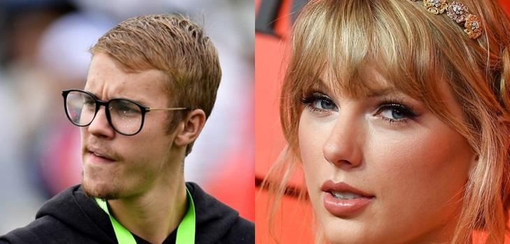 Justin Bieber se cuadró con su representante tras ser acusado por Taylor Swift de intimidarla