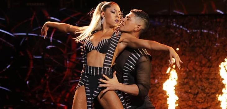 Pareja chilena de baile de show de Jennifer Lopez fue nominada a un Emmy