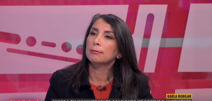 Karla Rubilar aseguró en Estado Nacional que ella y sus hijos han recibido amenazas de muerte