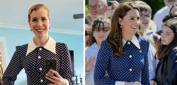 fanática copia todos los looks de Kate Middleton