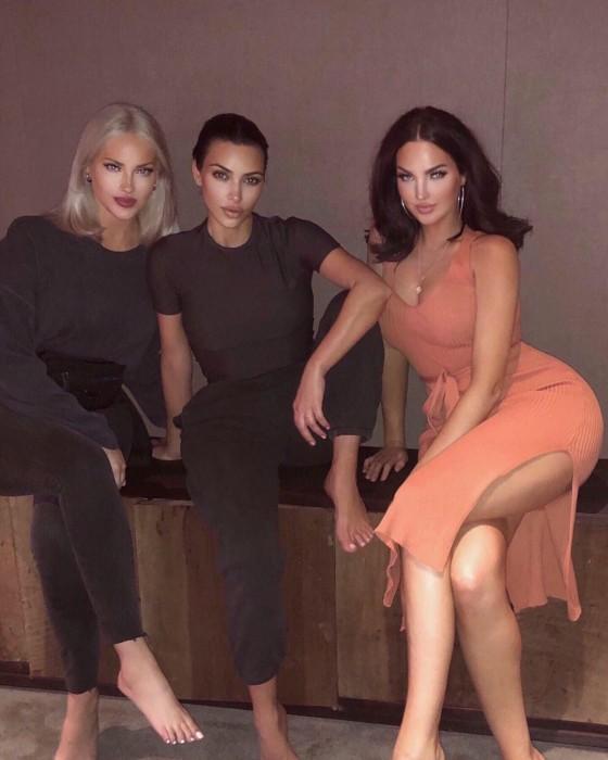 Acusan Kim Kardashian abuso photoshop fotografía a