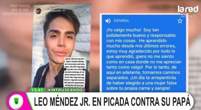 Steffi Méndez sobre polémicos dichos de su hermano Leo contra su padre
