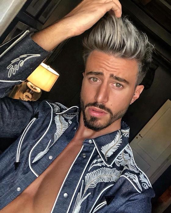 Cambio de look de Marco Ferri