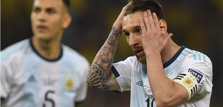 argentina eliminado de copa america