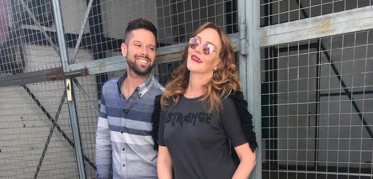 Michael Roldán reaccionó a broma de meteorólogo de CHV sobre Cata Pulido