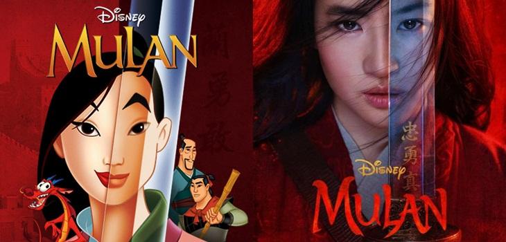 7 diferencias entre la película original de 'Mulán' y su versión live action