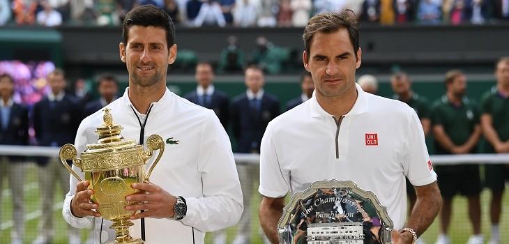 sjokovic y federer en final wimbledon